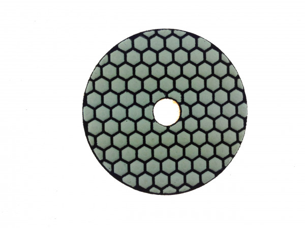 Polishing pads (dry) Ø125mm thickness 3,5mm
