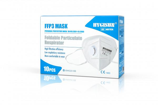 Hygisun FFP3-Maske mit Ventil
