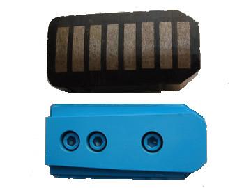 Metal-bond grinding blocks
