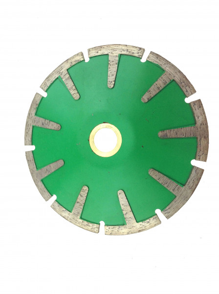 Diamond Curved Cutting Blade with segments