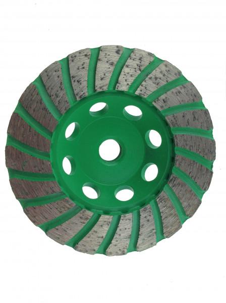 Turbo-Diamantschleifscheibe mit Stahl Kern