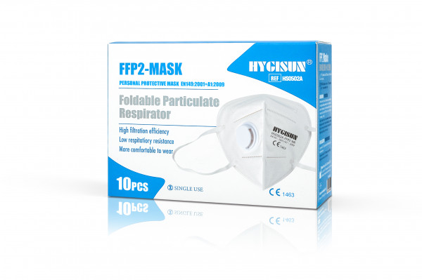 Hygisun FFP2-Maske mit Ventil